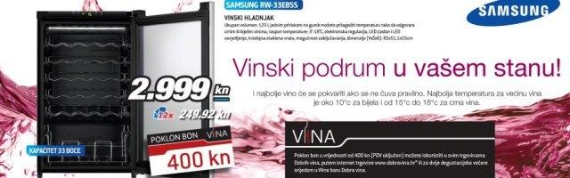 Ekskluzivna ponuda za ljubitelje vina, samo u Technomarketu