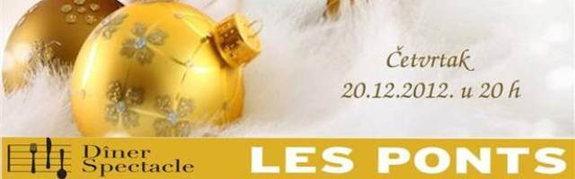 Božić u Les Pontsu s Marijom Husar i Matijom Dedićem!