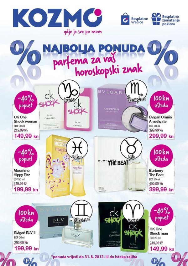 Kozmo parfemi za kolovoz - str.1.