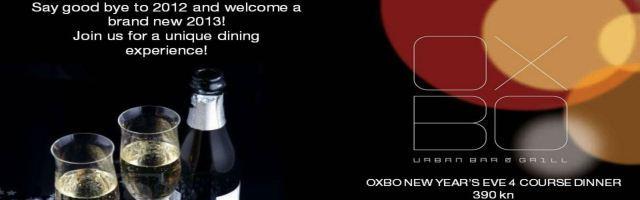 Čarobna Novogodišnja noć uz Oxbo Urban Bar  Grill!