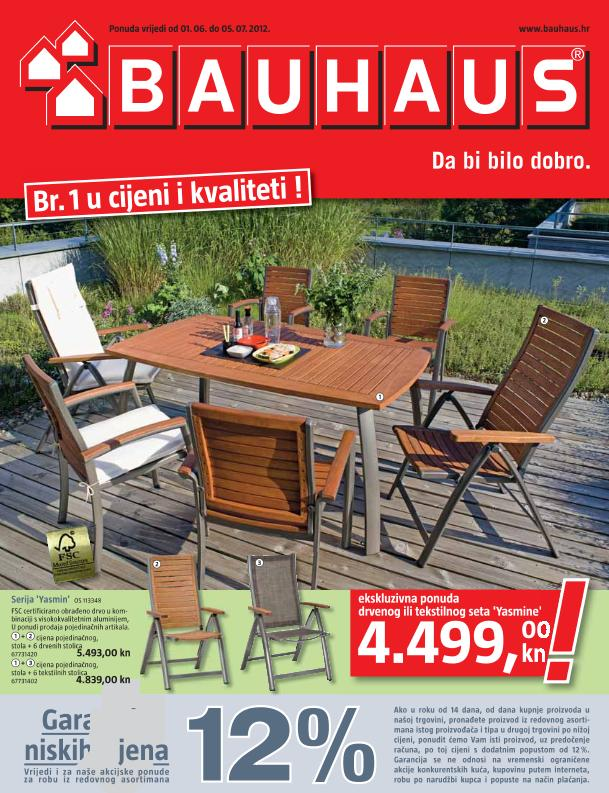 Bauhaus katalog lipanj 2012
