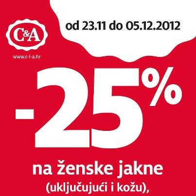 C&A vikend akcija