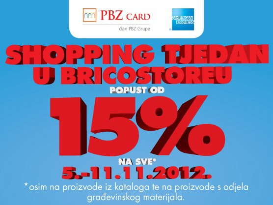 Shopping tjedan u Bricostoreu