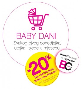 Bipa Baby dani -20%