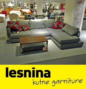 Kutne garniture Lesnina