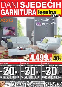 Lesnina Katalog Sjedeće Garniture