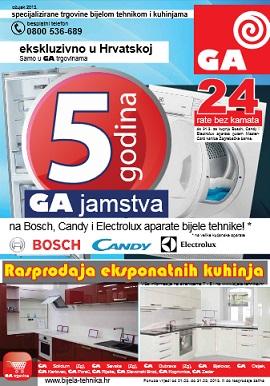GA bijela tehnika katalog
