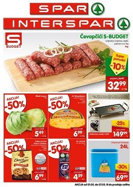 Interspar i Spar katalog do 7.5.