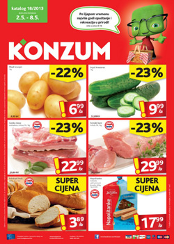 Konzum katalog do 8.5.