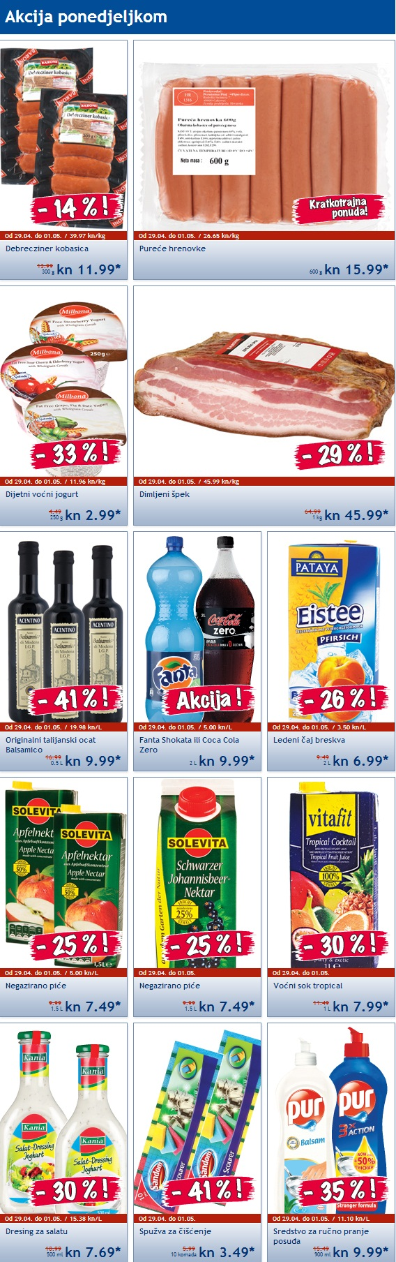 Lidl akcija za poetak tjedna