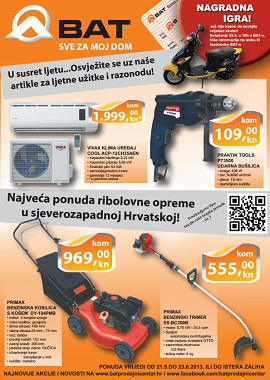 BAT katalog svibanj