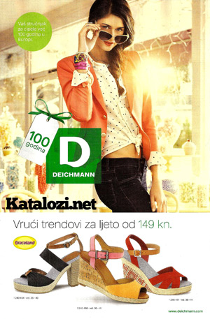 Deichmann katalog trendovi za ljeto