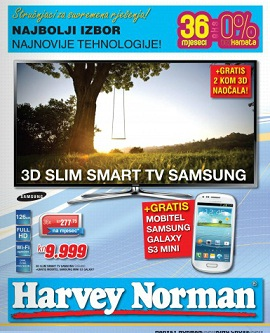 Harvey Norman katalog do 31.5.