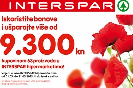 Interspar knjižica kupona do 21.5.