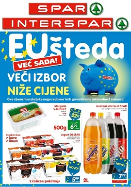 Interspar i Spar katalog do 21.5.