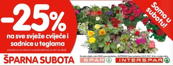 Interspar parna subota