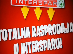 Interspar totalna rasprodaja