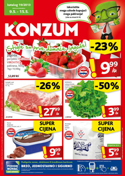 Konzum katalog do 15.5.