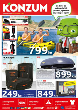 Konzum katalog putovanje