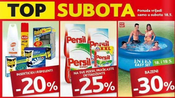 Konzum Top subota