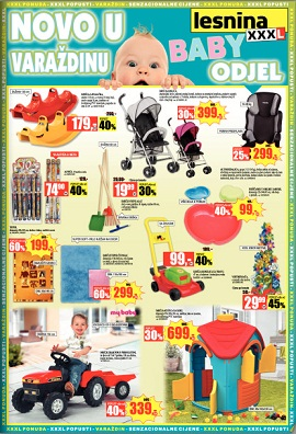 Lesnina katalog Baby odjel Varadin
