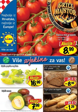 Lidl katalog prehrana od 23.5.