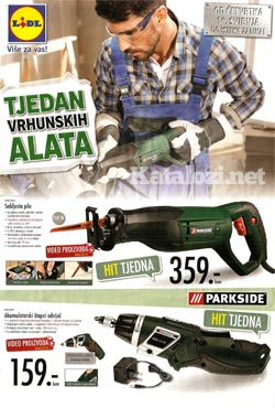 Lidl katalog alati