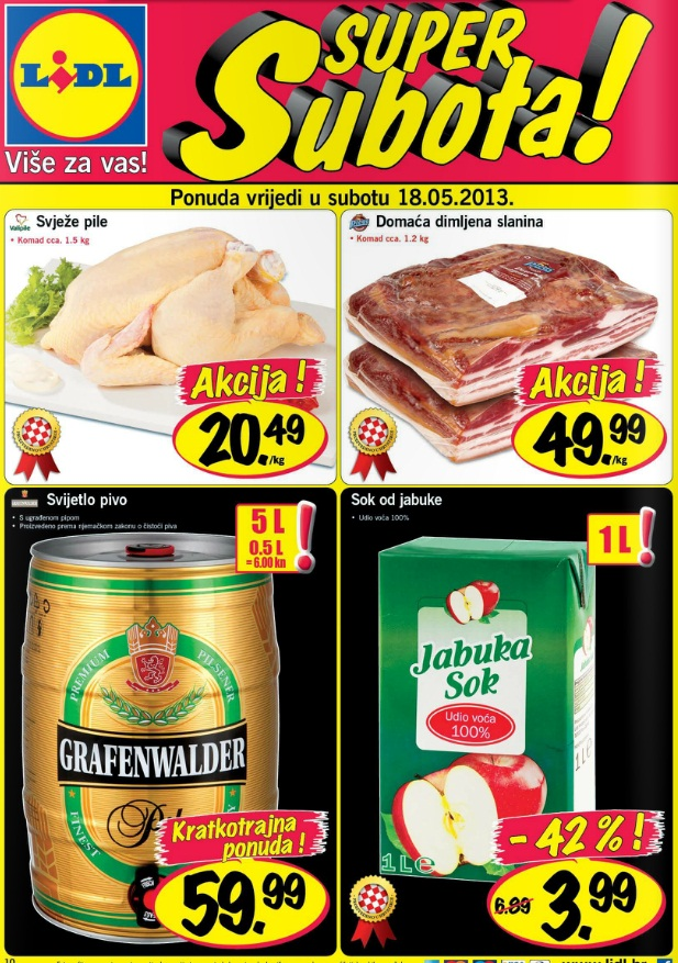 Lidl Super subota