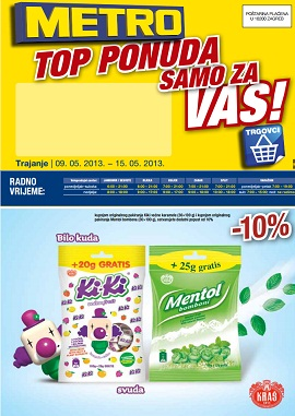 Metro katalog Top ponuda do 15.5.