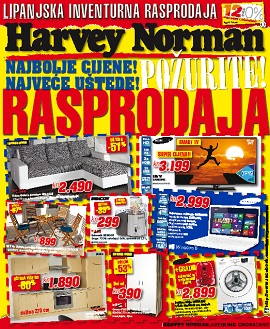 Harvey Norman katalog Rasprodaja do 30.6.