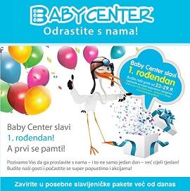 Baby center akcija