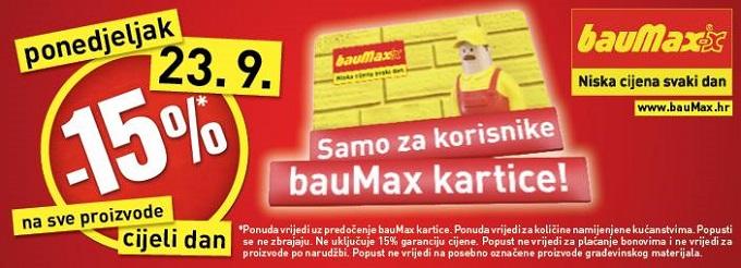 Baumax akcija