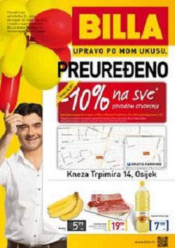 Billa katalog Osijek
