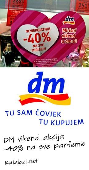 DM akcija parfermi