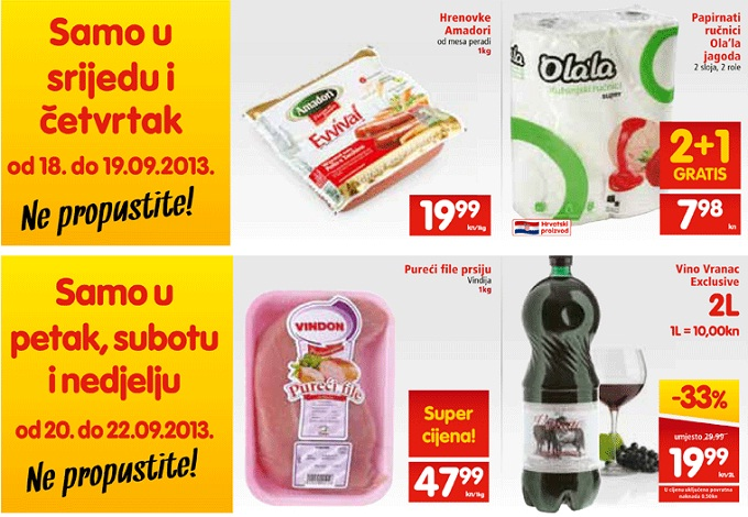 Interspar Spar vikend akcija