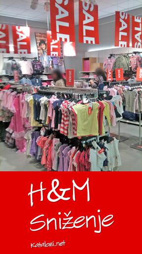 H&M sniženje