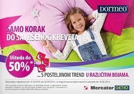Mercator katalog Dormeo