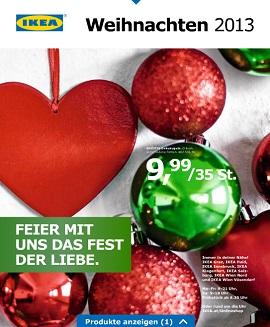 Ikea katalog Božić