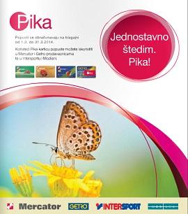 Mercator katalog Pika