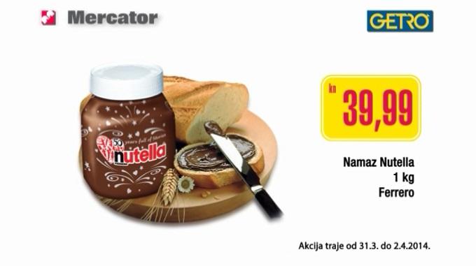 mercator Nutella