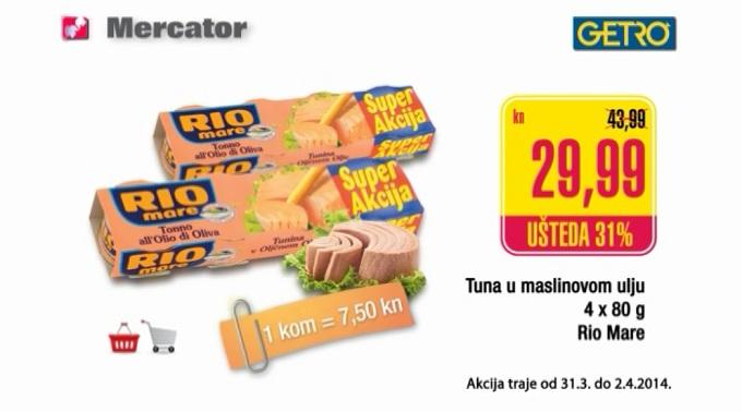 Mercator tuna Rio Mare