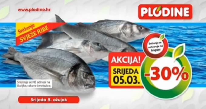 Plodine akcija riba