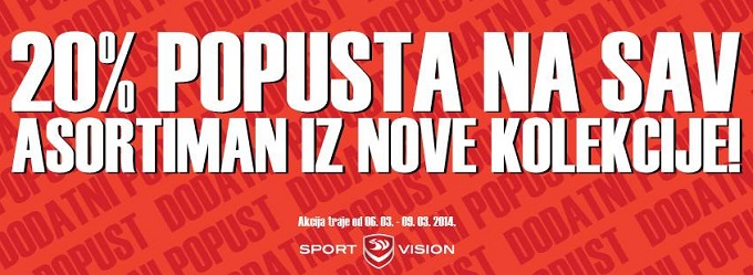 Sport Vision popust