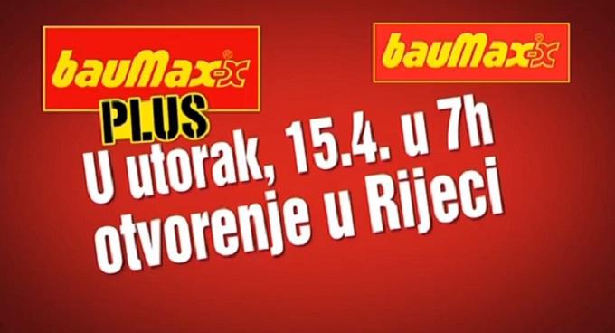 Baumax Rijeka otvorenje TV najava
