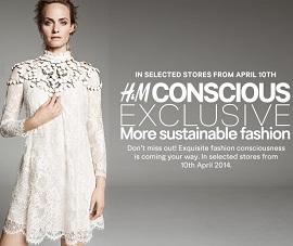 H&M katalog Conscious kolekcija
