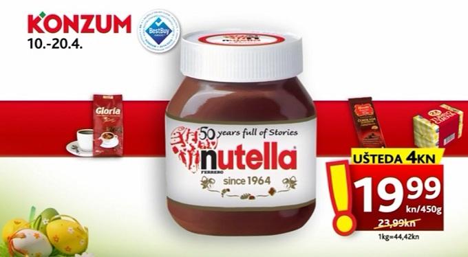 Konzum Nutella