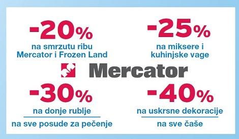 Mercator akcija mikseri kuhinjske vage