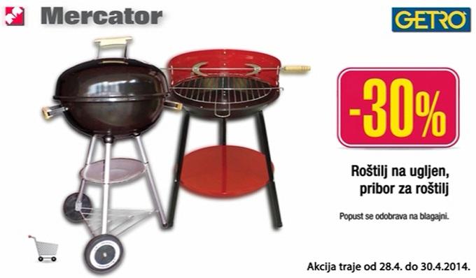 Mercator Getro roštilji