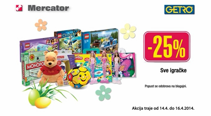 Sve igračke popust Mercator Getro