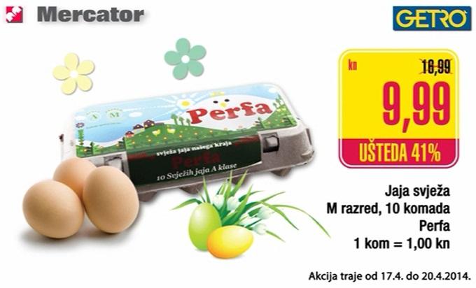 Svježa jaja